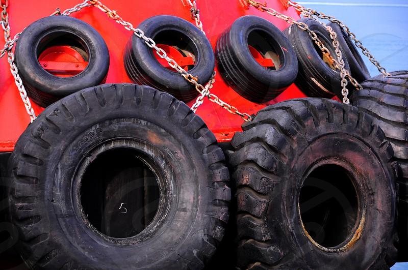 big truck tires photo