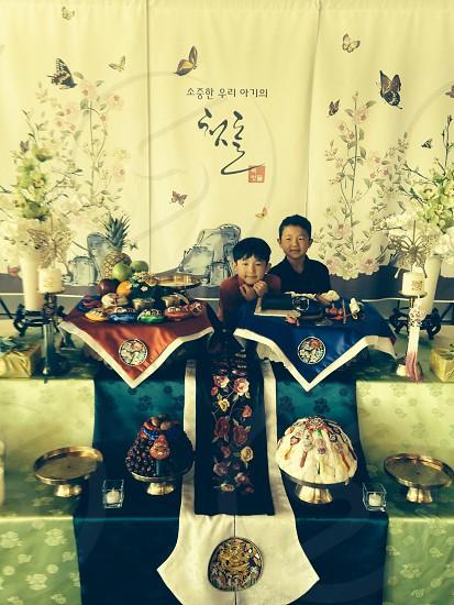 Korean Birthday photo