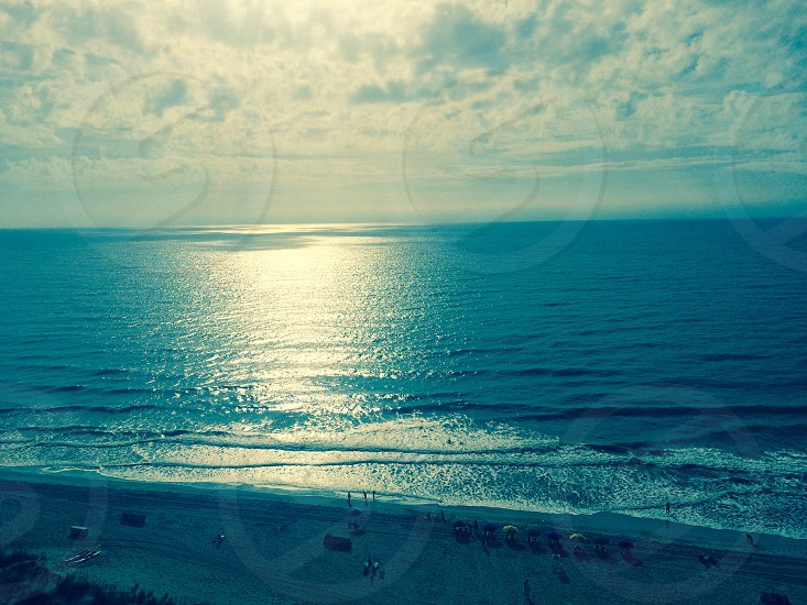 Myrtle Beach in the morning sun. photo