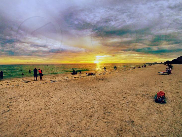 Manatee beach FL photo