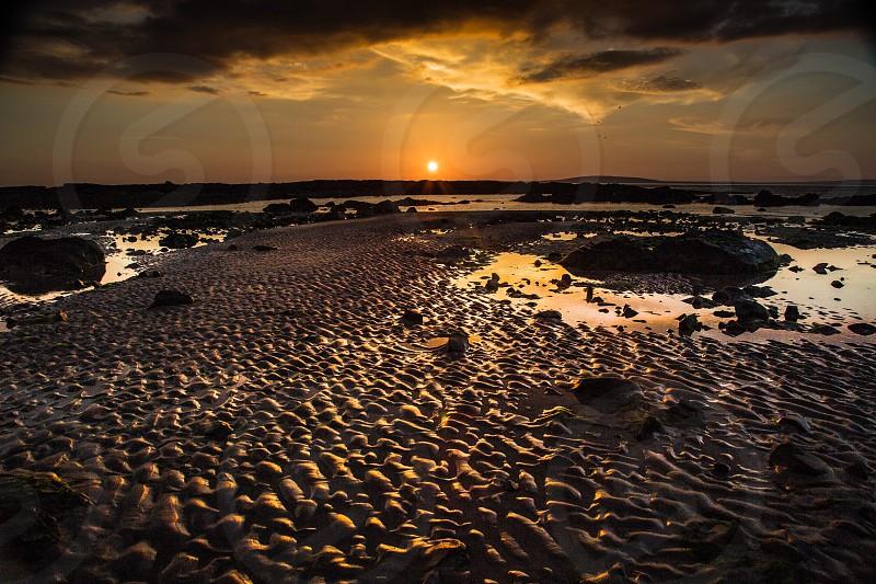 Beach silhouette!  photo