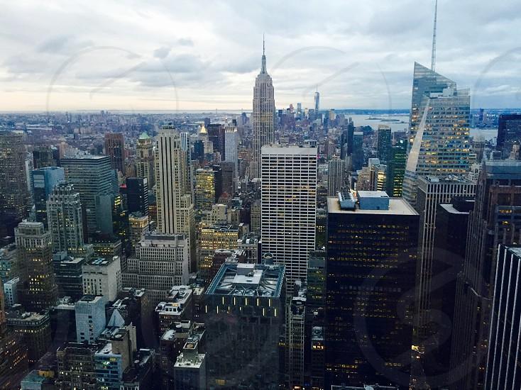 Empire State Building Skyline High rise New York City photo