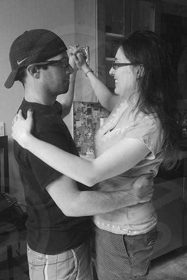 Me and my gf  dancing around  photo