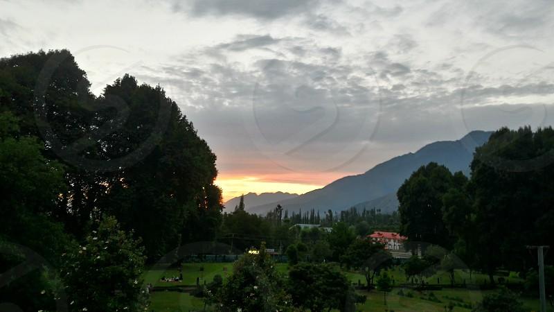Harwan Garden Srinagar photo