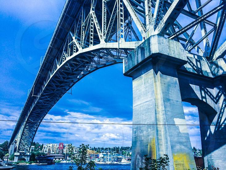 Aurora bridge Seattle wa photo
