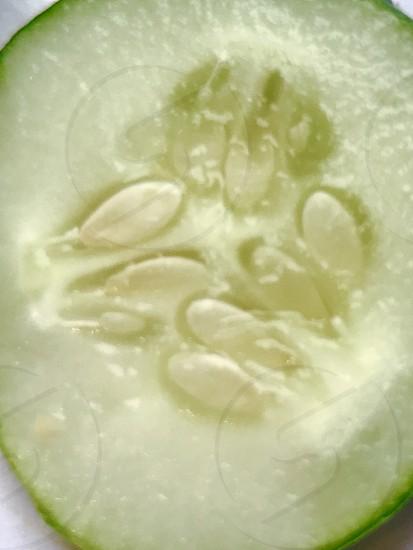 Vegetables food cucumber seeds juicy photo