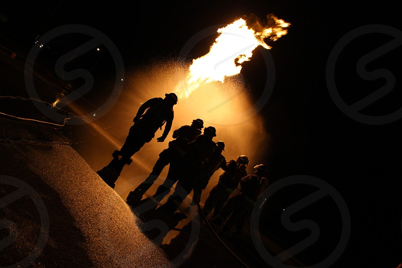 Fire Firefighters Volunteer Night photo