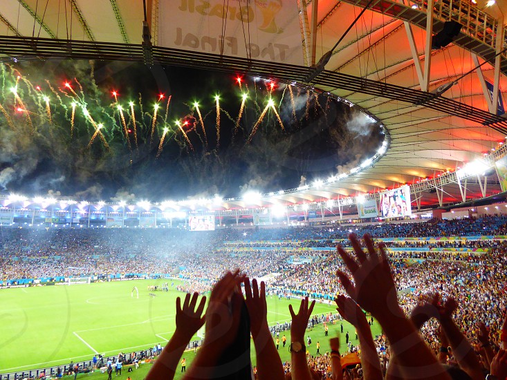 Maracana stadium brazil Rio de Janeiro football worldcup final photo