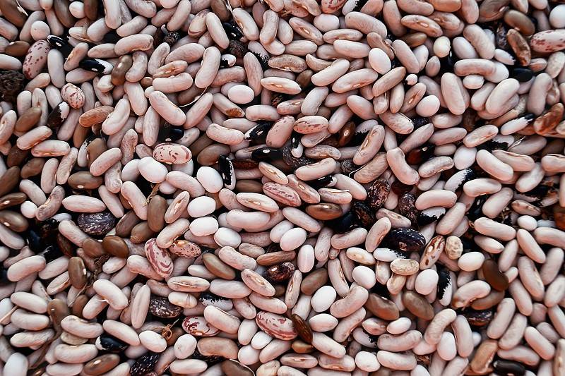 Colorful bean texture background. photo