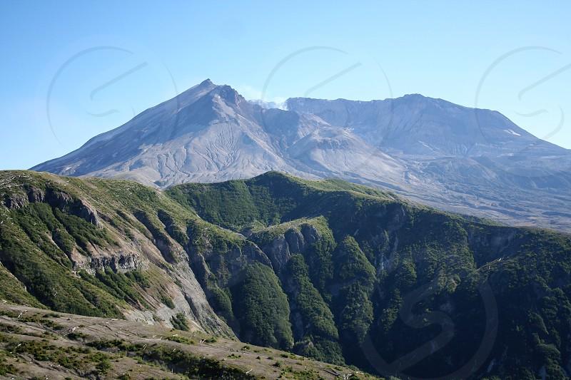Mount St Helens Washington photo