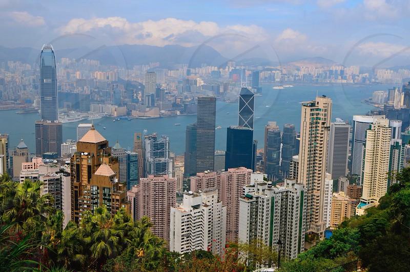 Victoria Peak - Hong Kong photo