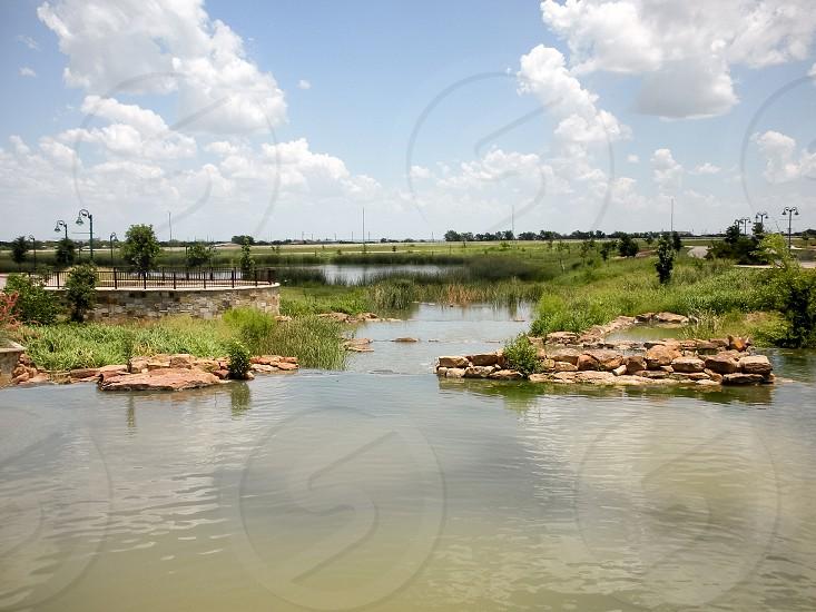 River landscape  photo