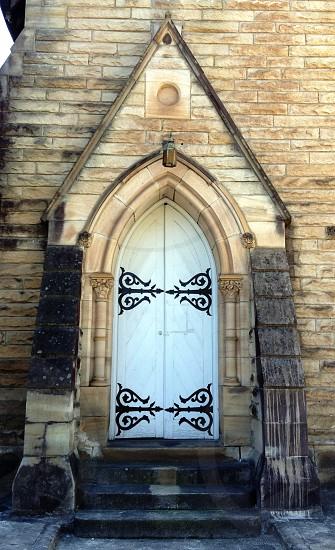 Church door photo