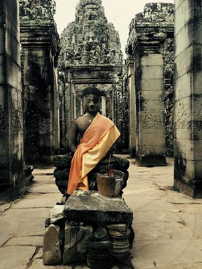 Statue Cambodia Siem reap  photo