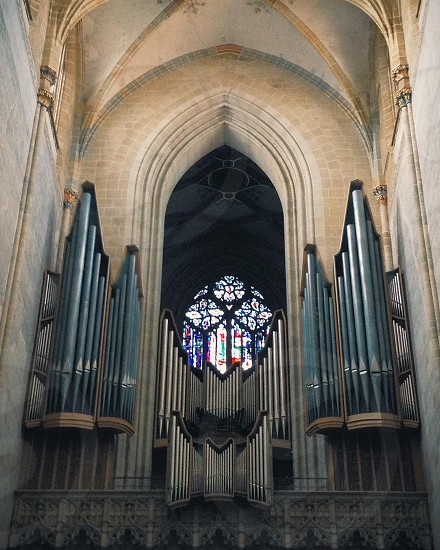 Ulm Minster church Germany.  photo