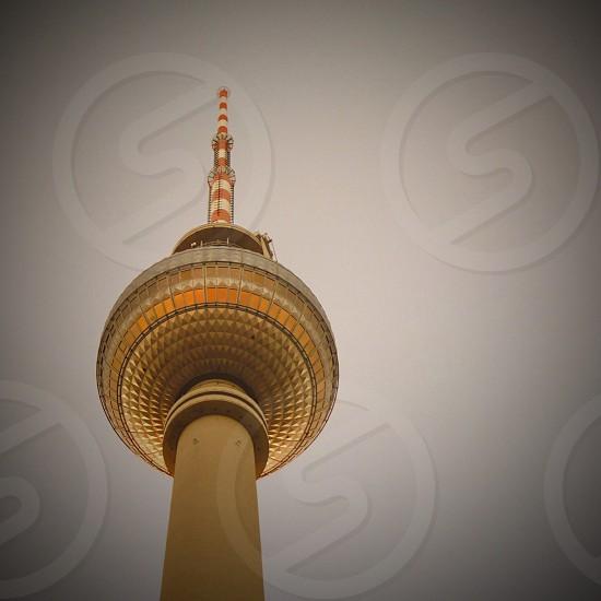 beige tower photo