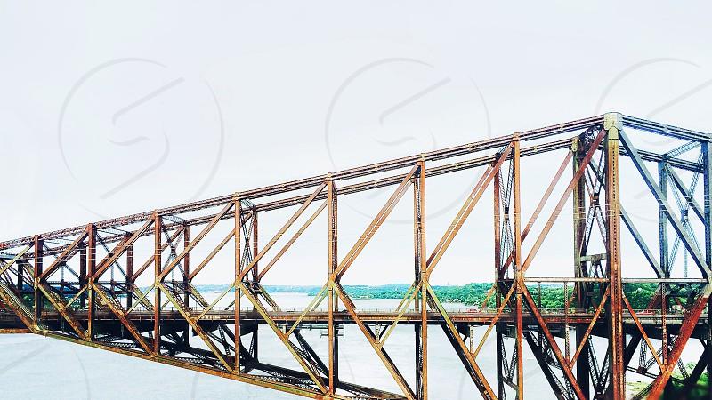 Ottawa Bridge en route to Montréal photo