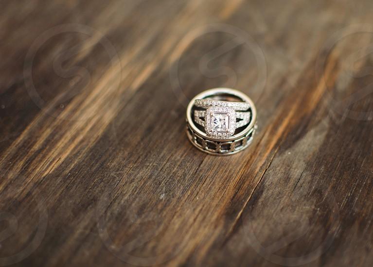 Diamond ring shot photo