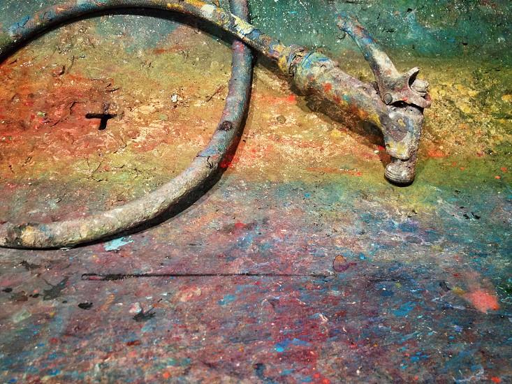 rusted hose photo
