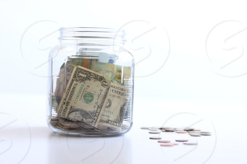 One U.S. Dollar Bill photo