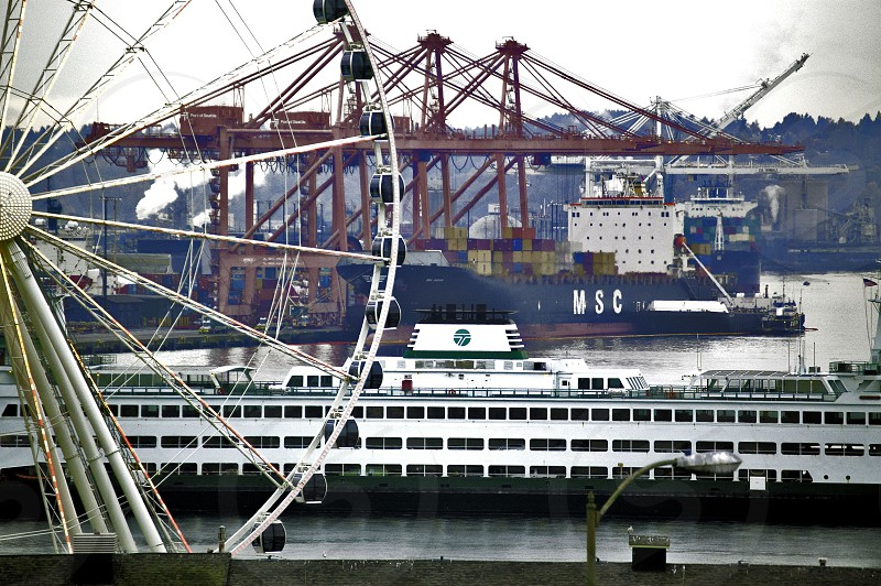 Enjoy tourism in Seattle Washington...ride the wheel take the ferry across Puget Sound and more photo