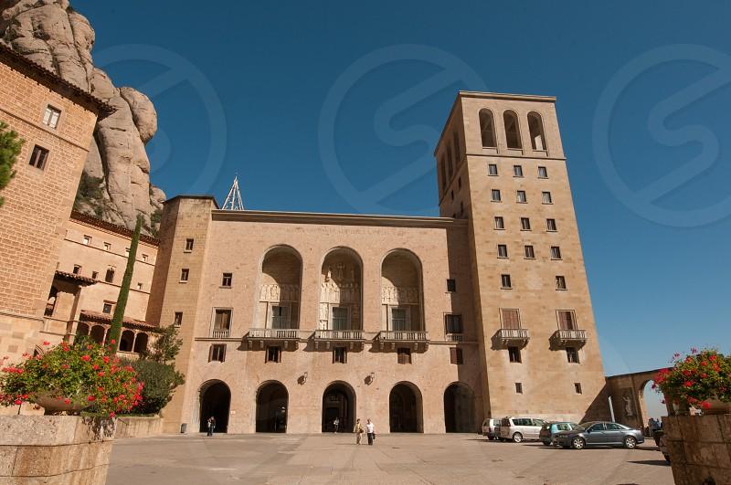 Montserrat exterior view. Barcelona photo