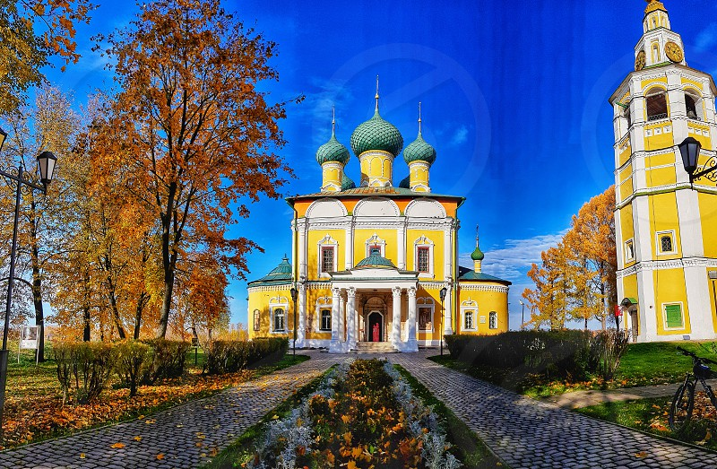 Uglich (Russian: Углич) is a historic town in Yaroslavl Oblast Russia on the Golden Ring and the Volga River. photo