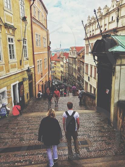 Prague's Historic Alley's photo