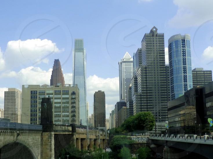Philadelphia city sky buildings skyscrapers photo