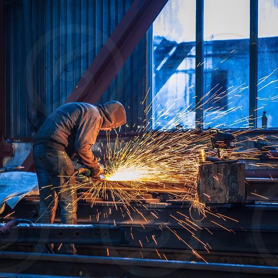 Working man photo