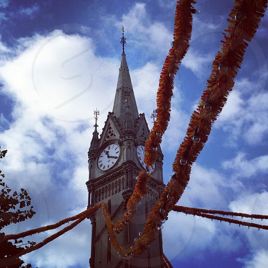 The Famous Clock Tower In Leicester Town Centre  photo