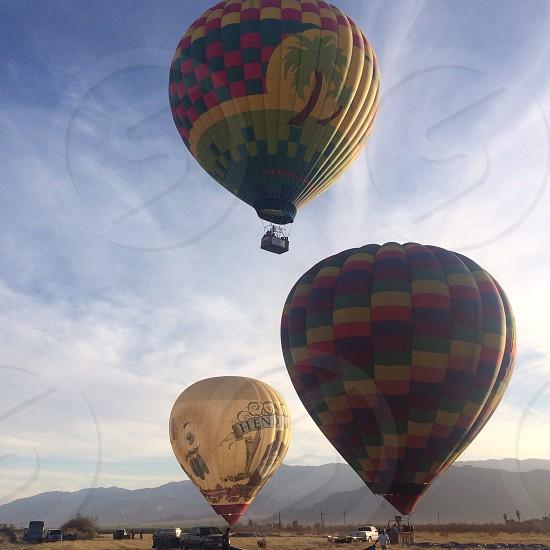 hot air ballon festival photo