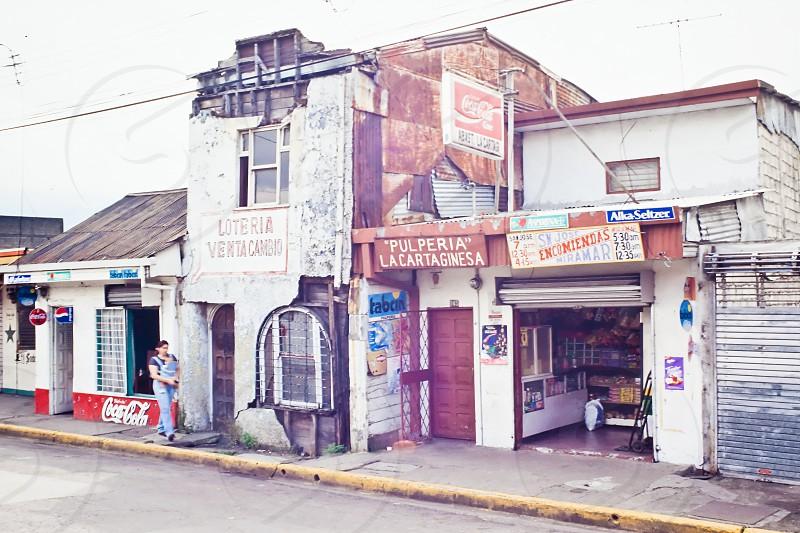 Street In San Jose capital of Costa Rica photo