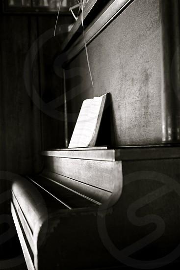 Old piano  photo