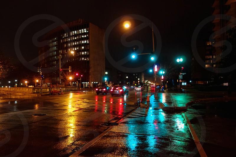 Rainy night  photo