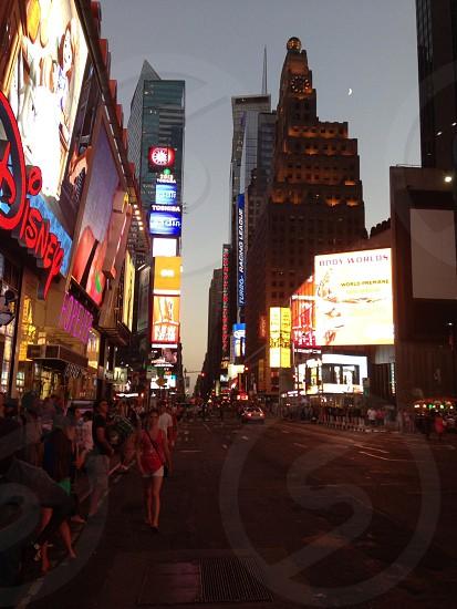Times Square.  photo