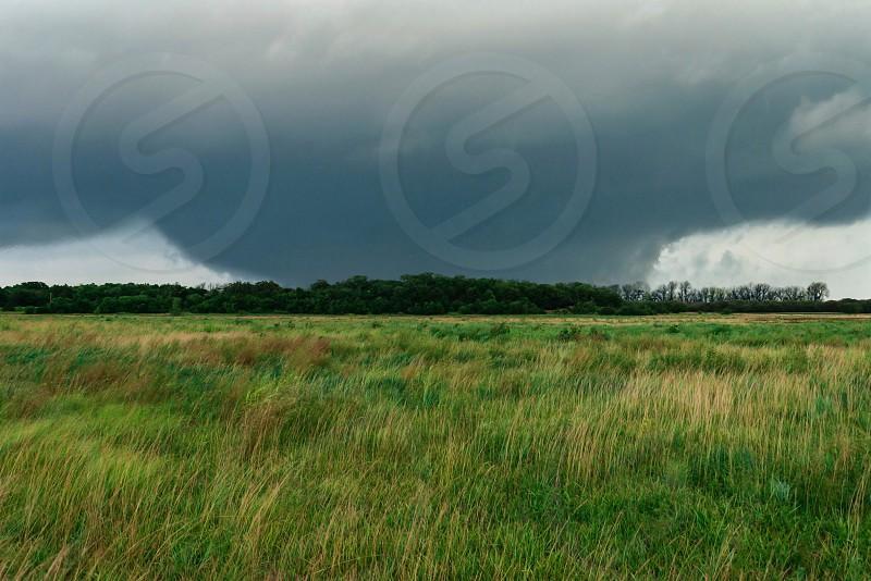Tornado Kansas supercell weather severe plains photo