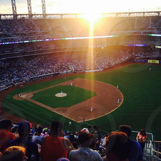 Travel inspiration baseball summer game  photo