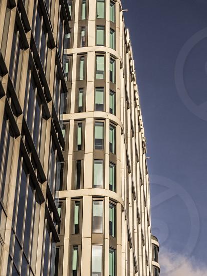 high office building against the sky photo