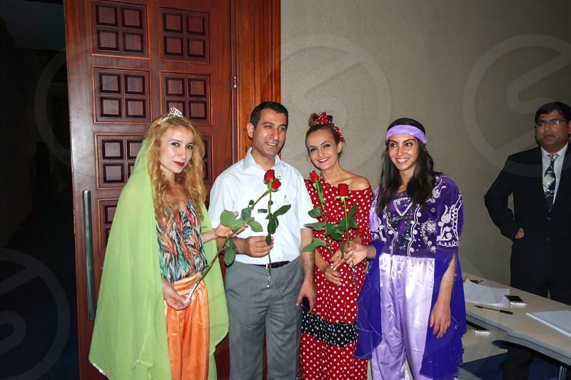 Turkish fashions Antalya Turkey. photo