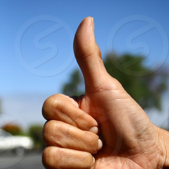 Thumbs UP! photo