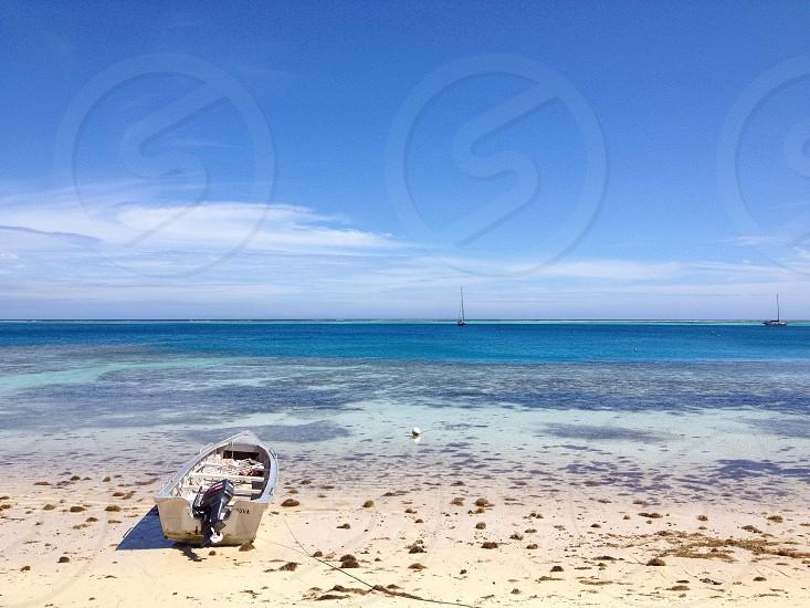 Boat Fiji photo
