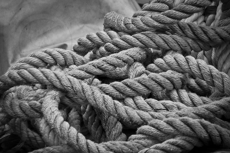 Rope fisherman photo