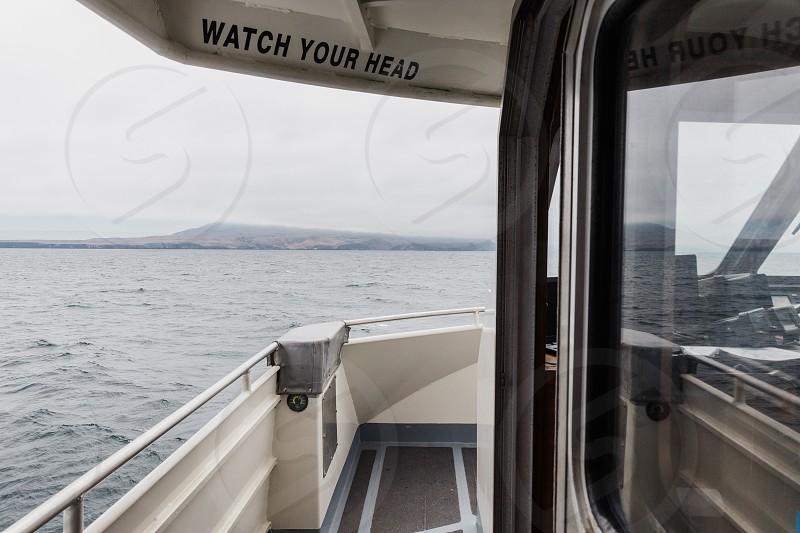 boat at sea photo