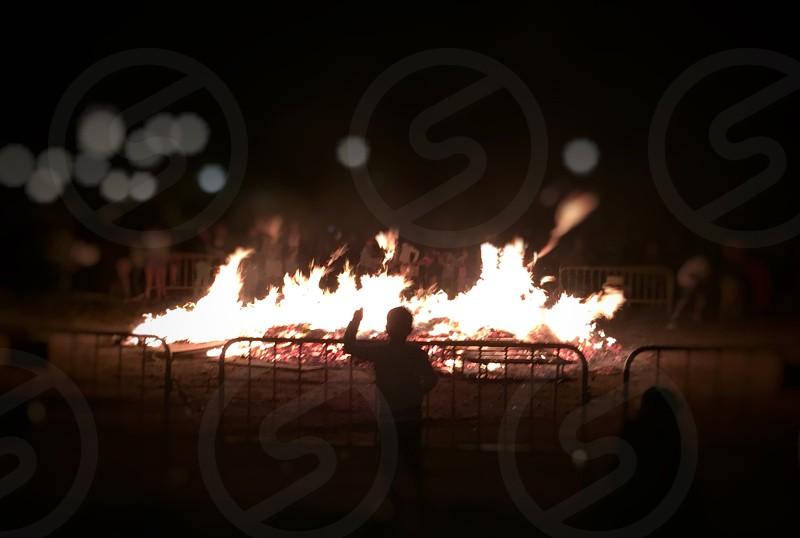 Spain Culture Holidays Bonfire photo