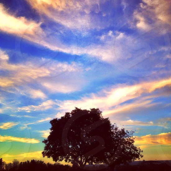 Sky clouds landscape photo