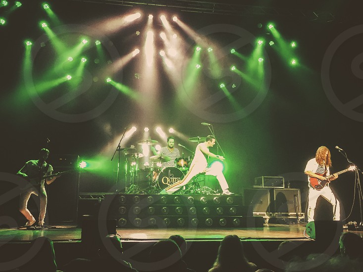 One night of queen rock and roll stage lights Friday night rock nostalgia Freddie Mercury legends photo