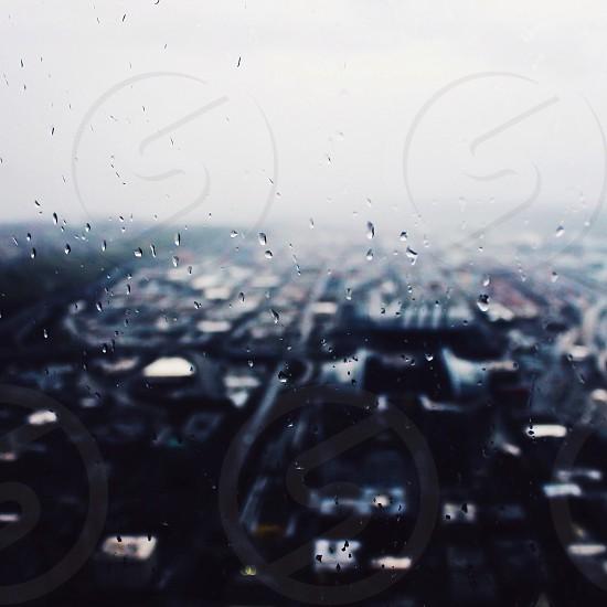 Seattle rain photo
