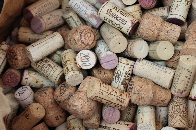 A plethora of corks. photo