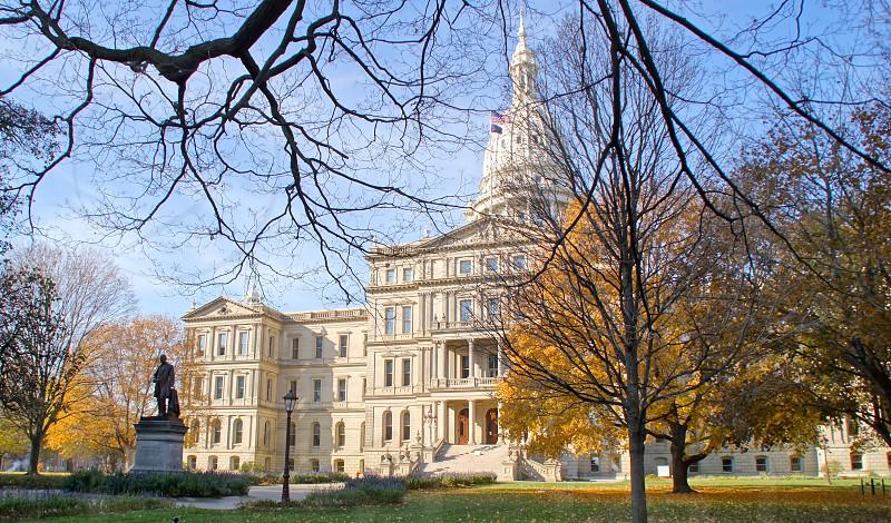Michigan's Capitol photo